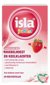 Isla Junior keelpastilles aardbei