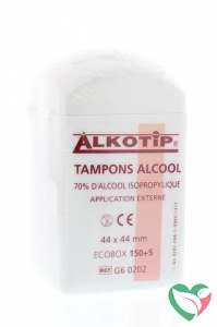 Alkotip Alcoholdoekjes alkotip dispenser