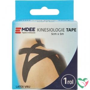 Emdee Kinesio tape zwart non cut