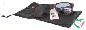 Haga Eyewear Zonnebril Kind 5-10 jaar wayfarer luipaard