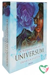 Deltas Wijsheid van het universum boek en orakelkaarten