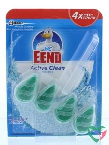WC Eend Blok activ clean marine