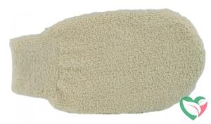 Naturae Donum Scrub handschoen bio katoen