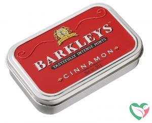 Barkleys Classic mints cinnamon