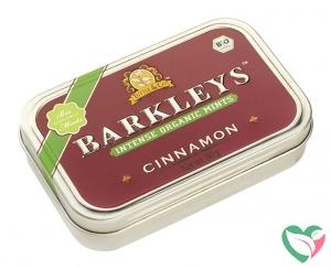 Barkleys Organic mints cinnamon bio