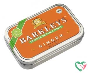 Barkleys Organic mints ginger bio