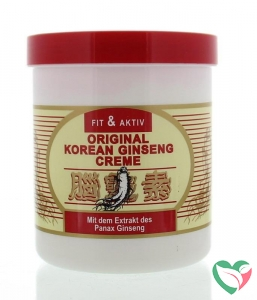 Healthy Care Korean ginseng creme