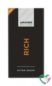 Amando Rich aftershave