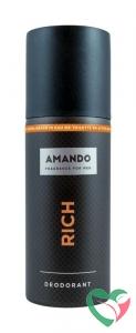 Amando Rich deodorant spray