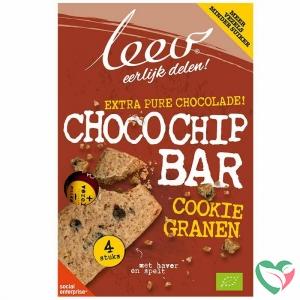 Leev Bio cookiebar chocochip & granen