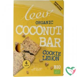 Leev Bio Cookiebar kokos-citroen