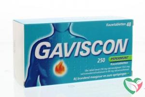 Gaviscon Pepermunt 250