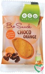 Ecobiscuit Choco orange bio
