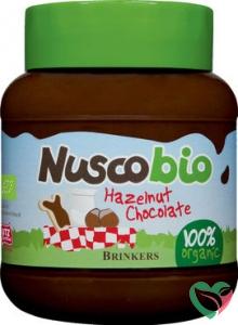 Brinkers Nuscobio hazelnootpasta bio