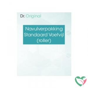 Dr Original Navulverpakking standaard voetvijl (roller)
