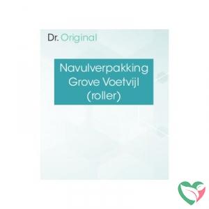 Dr Original Navulverpakking grove voetvijl (roller)