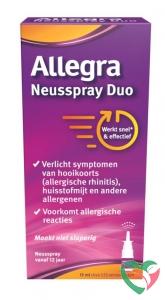 Allegra Neusspray duo