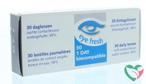 Eyefresh Daglenzen -3.75