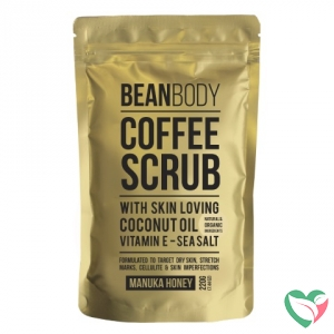 Beanbody Coffee scrub Manuka honey
