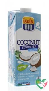 Isola Bio Kokosdrink met calcium suikervrij bio