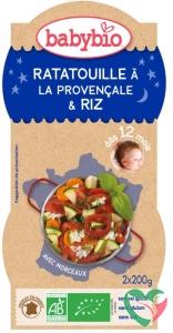 Babybio Ratatouille met rijst 200 gram