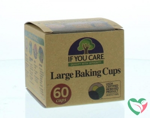 If You Care Cupcakevormen gerecycled groot