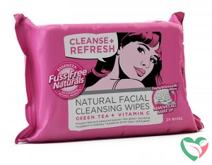 Fuss Free Nat Face wipes C+ moisterise