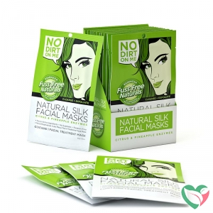 Fuss Free Nat Face mask cleanse exfoliate