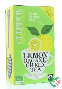 Clipper Green tea lemon