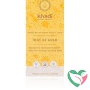 Khadi Haarkleur golden hint