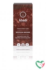 Khadi Haarkleur medium brown