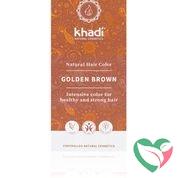 Khadi Haarkleur golden brown