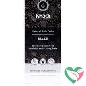 Khadi Haarkleur black