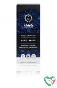 Khadi Haarkleur pure indigo