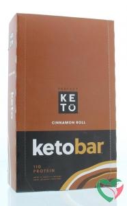Go-Keto Keto koolhydraatarme reep kaneel/cinnamon roll