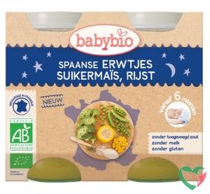 Babybio Groenten erwten mais rijst 200 gram bio