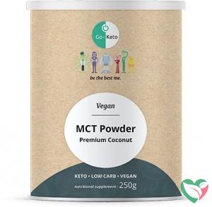 Go-Keto MCT Poeder naturel vegan Premium