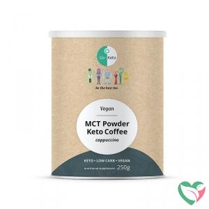 Go-Keto Instant Keto latte met cappuccino smaak vegan