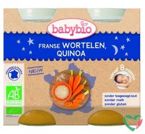 Babybio Wortel & quinoa 200 gram bio