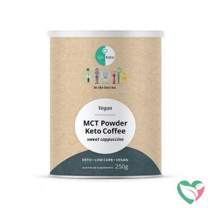 Go-Keto Instant latte cappucino gezoet