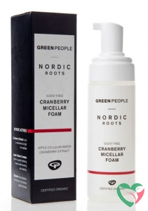 Green People Nordic Roots foam micellar cranberry