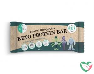 Go-Keto Bar sinaasappel chocolade amandel bio