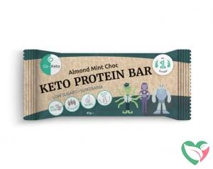 Go-Keto Bar mint chocolate cashew bio