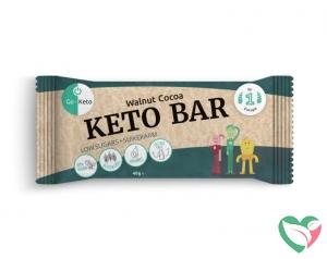 Go-Keto Bar - walnut cocoa bio