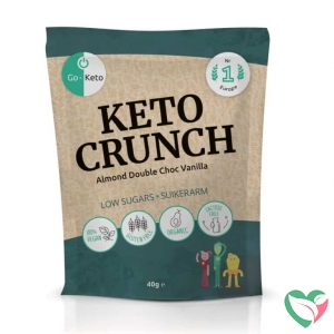 Go-Keto Crunch - almond vanilla sea salt bio