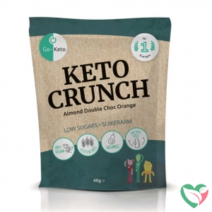 Go-Keto Crunch - almond orange bio