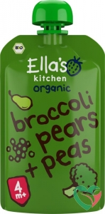 Ella's Kitchen Broccoli pears and peas 4+ maanden