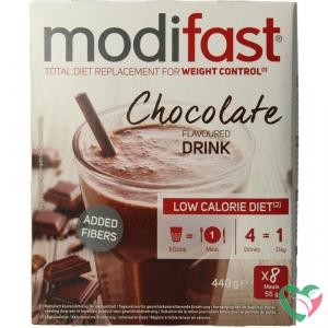 Modifast Intensive milkshake chocolade 8 zakjes