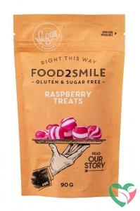 Food2Smile Raspberry treats