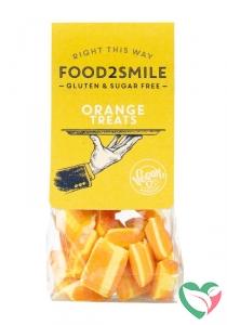 Food2Smile Orange treats suikervrij glutenvrij lactosevrij